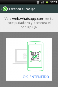 WhatsApp Web fixed QR Code help