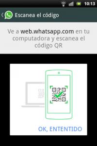WhatsApp Web fixed QR Code help